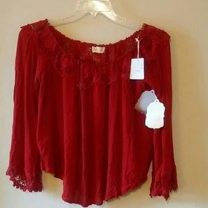 Altar'd State Top/boho size: small